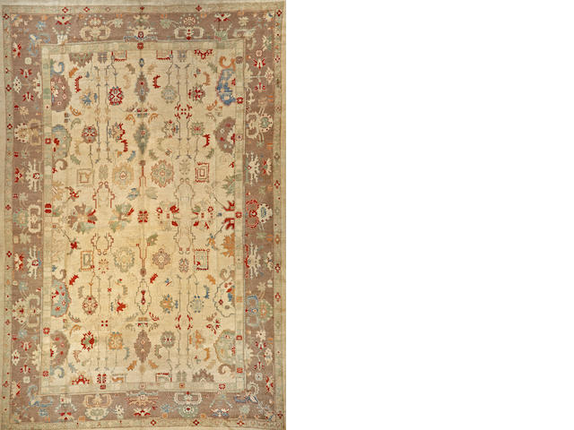 A Contemporary Turkish carpet  Turkey size approximately 12ft. 7in. x 17ft. 5in.