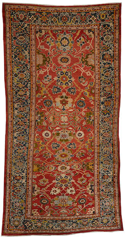 A Sultanabad carpet  Central Persia size approximately 10ft. x 18ft. 6in.