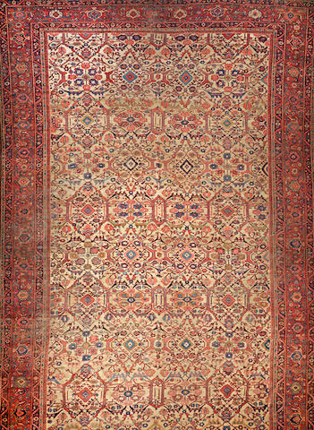 A Sultanabad carpet  Central Persia size approximately 15ft. 2in. x 22ft. 9in.