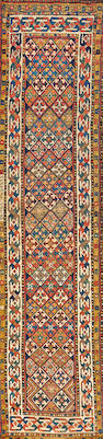 Caucasian runner  Caucasus size approximately 2ft. 11in x 11ft. 8in