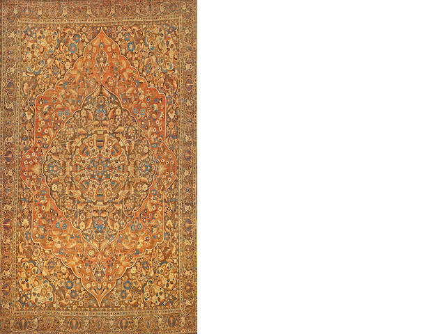 A Hadji Jalili Tabriz Northwest Persia size approximately 12ft. 3in. x 20ft. 6in.