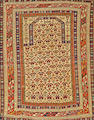 A Shirvan rug  Caucasus size approximately 3ft. 8in. x 4ft. 10in.