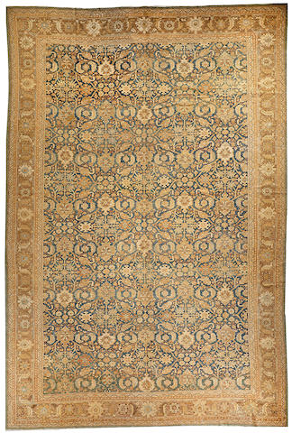 A Sultanabad carpet  Central Persia size approximately 12ft. 7in. x 18ft. 7in.