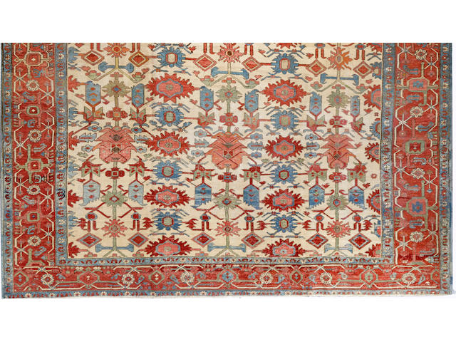 A Serapi carpet Northwest Persia size approximately 10ft. x 11ft.