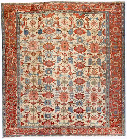 A Serapi carpet Northwest Persia size approximately 10ft. x 11ft.