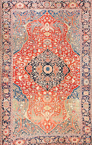 A Serapi carpet  Northwest Persia size approximately 11ft. 8in. x 18ft. 4in.