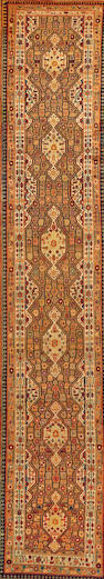 A Serab runner  Northwest Persia size approximately 3ft. x 16ft. 2in.