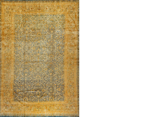 A Kerman carpet  South Central Persia size approximately 11ft. 3in. x 16ft. 10in.