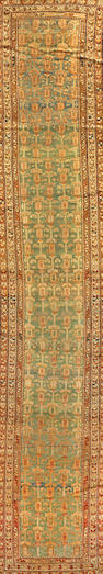 A Northwest Persian runner  Northwest Persia size approximately 3ft. 1in. x 16ft. 6in.