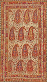 A Qashq'ai rug  Southwest Persia size approximately 5ft. 6in. x 9ft. 4in.