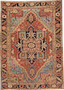 A Heriz carpet  Northwest Persia size approximately 8ft. 6in. x 11ft. 6in.