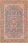 A Kashan rug Central Perisa size approximately 4ft. 3in. x 6ft. 5in.