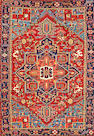 A Karadja runner  Northwest Persia size approximately 7ft. 6in. x 10ft. 6in.