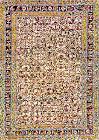 A Tabriz rug  Northwest Persia size approximately 4ft. 6in. x 6ft. 5in.