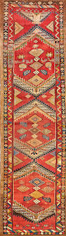 A Serab runner  Northwest Persia size approximately 3ft. 2in. x 10ft. 10in.