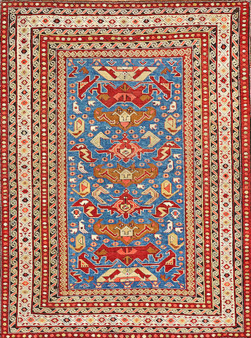 A Caucasian rug Caucasus size approximately 3ft. 8in. x 4ft. 11in.