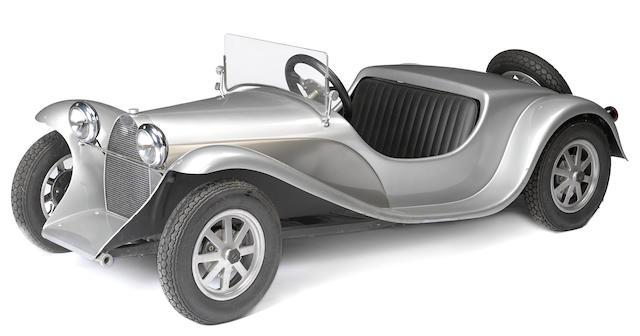 A Bugatti Type 55 junior,