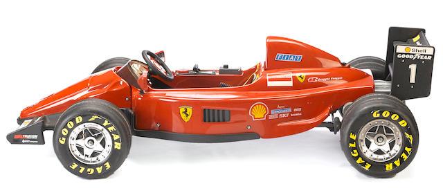 A M.Schumacher Ferrari F1 electric car by ToysToys, Italy,