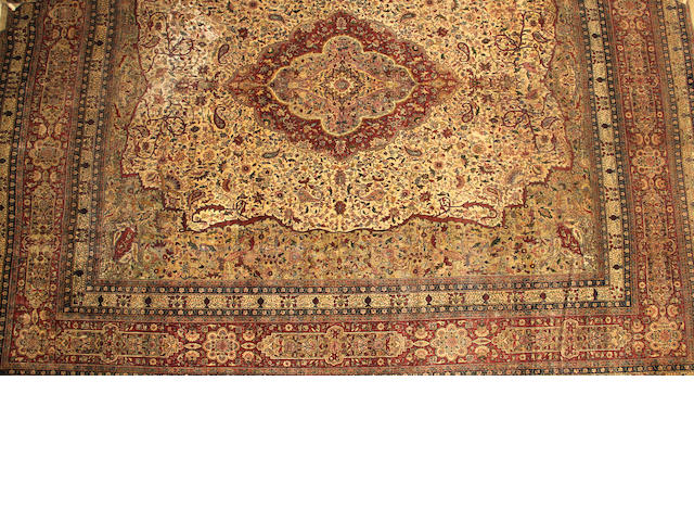 A Sivas carpet  Turkey size approximately 13ft. 11in. x 15ft. 8in.