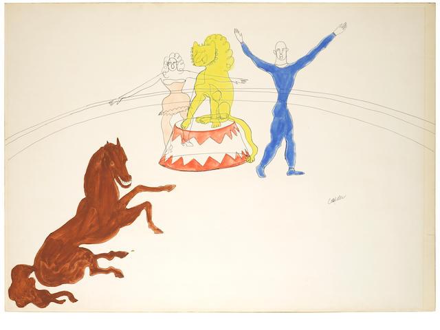 ALEXANDER CALDER (1898-1976) Untitled, circa 1931