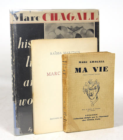 CHAGALL, MARC. 3 vols, all signed. **Jan. PAD**