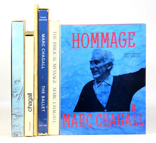 CHAGALL, MARC. 12 vols.  **Jan. PAD**