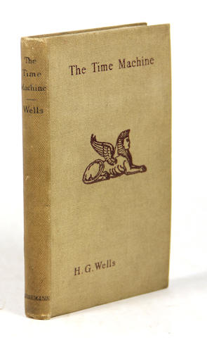 WELLS, H.G. Time Machine. 1st ed. later issue
