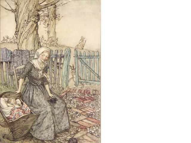 [RACKHAM.] Mother Goose. L:[1913]. Sgd ed of 1130.