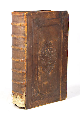 Bible in English. 1715.