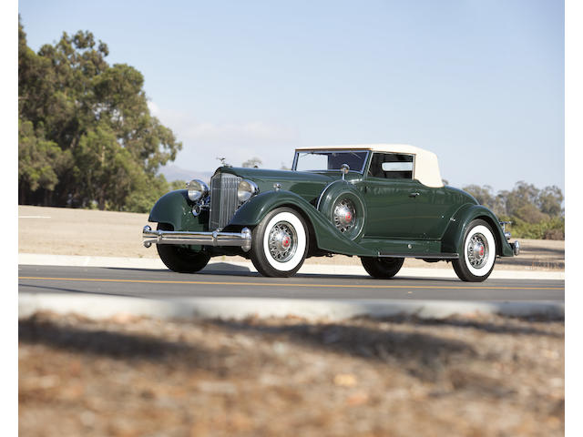 1934 Packard 12 Convertible Coupe
