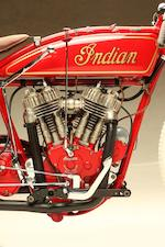 "The ""Harley Eater"" privateer track bike,1921 Indian Board Track Racer Engine no. 71R956"
