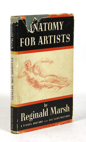 MARSH, REGINALD. Anatomy for Artists. With full-page drawing.  **Jan. PAD**