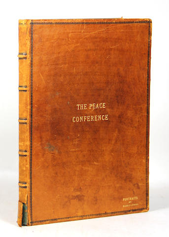 The Peace Conference [Treaty of Versailles]. Photos by Harris & Ewing.  **Jan. PAD**