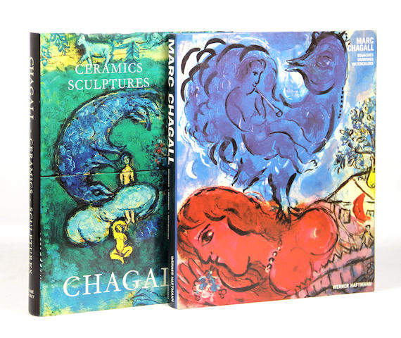CHAGALL, MARC. Approx. 23 vols.  **Jan. PAD**