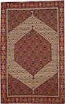 A Haft Rang Senneh size approximately 4ft. 8in. x 7ft. 2in.