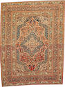 A Tabriz rug  Northwest Persia  size approximately 4ft. x 5ft. 3in.