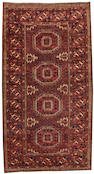 A Belouch rug  Northeast Persia size approximately 3ft. 2in. x 5ft. 11in.