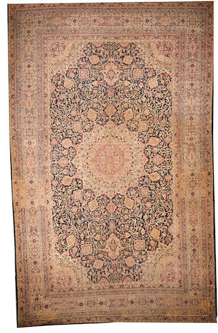 A Hadji Jalili Tabriz carpet  Northwest Persia size approximately 13ft. 11in. x 21ft. 7in.