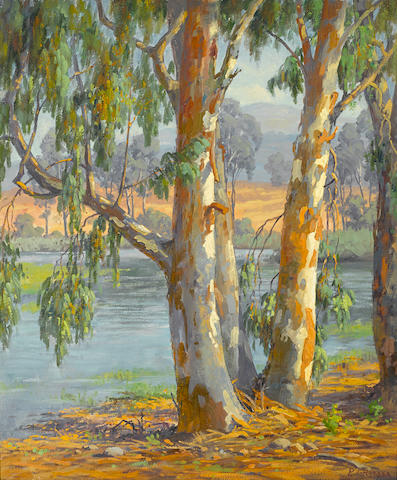 Paul A. Grimm (American, 1891-1974) Lakeside 30 x 25in
