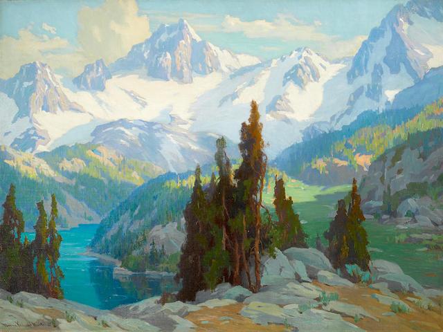 Marion Kavanagh Wachtel (American, 1870-1954) Mount Whitney 30 x 40in