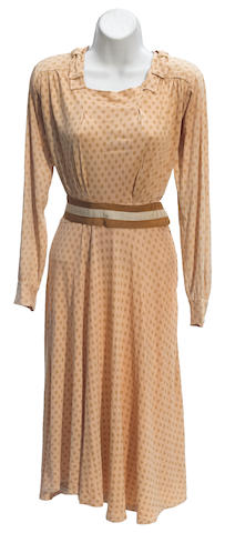 A Joan Crawford polka-dot dress from Mildred Pierce