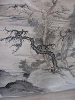 Attributed to He Haixia (1908-1998) Landscape