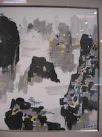 Wu Guanzhong (1919-2010)  Zhangjiajie
