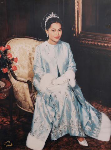 A Wallace Seawell photograph of Princess Fatima Pahlavi of Iran