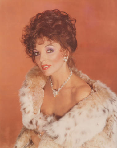 A Wallace Seawell photograph of Joan Collins