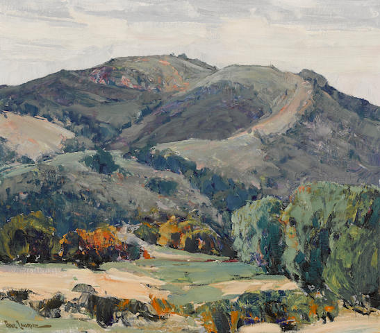 Paul Lauritz (Norwegian/American, 1889-1975) Topanga canyon, 1929 28 1/4 x 32 1/4in