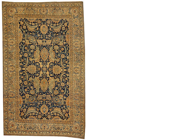 A Kerman carpet  South Central Persia size approximately 8ft. 10in. x 14ft. 2in.