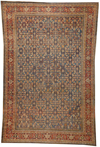 A Sultanabad carpet  Central Persia size approximately 11ft. 6in. x 17ft. 6in.