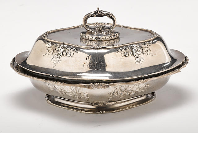 An American sterling silver  vegetable dish  by Gorham Mfg. Co., Providence, RI, 20th century