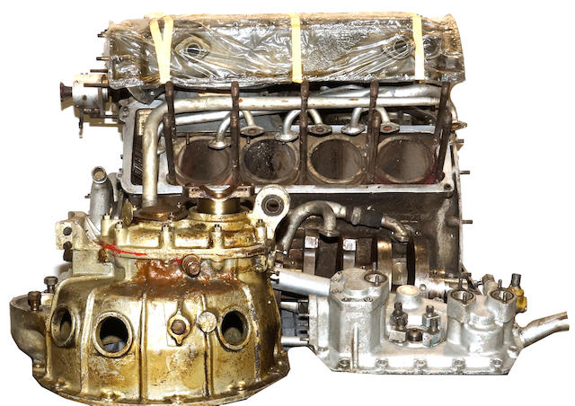 Maserati competition V8 engine